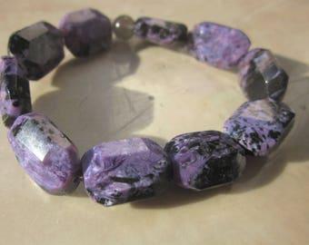 Charoite (grey Moonstone) Bracelet