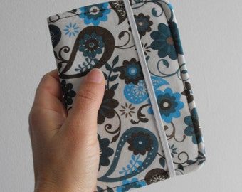 blue and brown | passport wallet | passport sleeve | pass pouch | gift for traveler | world in my hand | just go | pass holder