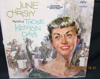June Christy recalls Those Kenton Days - Capito Records (1959)