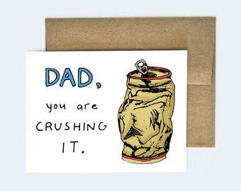 Funny Father's Day Card | Happy Father's Day Card |  Beer Father's Day Card | Card for Dad | Card for Father