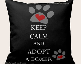 Custom dog breed toss pillow dog lovers choose your favorite breed adoption dog rescue animal rescue