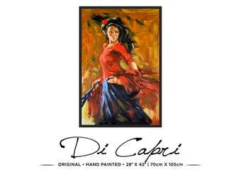 Château Merlot | Original Oil Painting On Canvas | Modern Art | 03