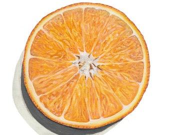 Orange Limited Edition PRINT 12x12