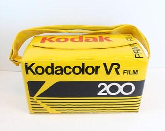 Kodak Film Cooler kodacolor vr 200 case bag carrying  vintage
