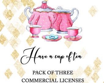 COMMERCIAL LICENSE PACK : 3 items