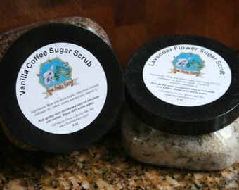 Exfoliating Sugar Scrubs