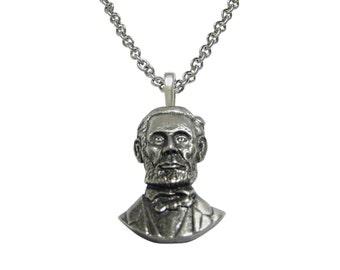 Abraham Lincoln Pendant Necklace