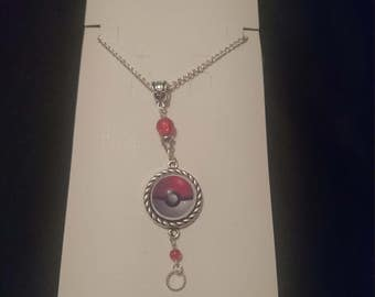 Pokemon Pokeball Anime Necklace
