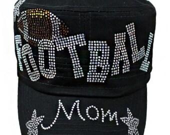 Black Football Mom Cap