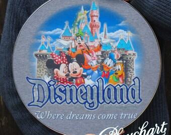 Disney Resort mounted t-shirt