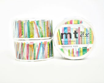 MT Ex Books Washi Tape, MT Masking Tape