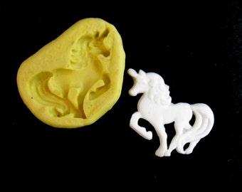 silicone unicorn mold,unicorn push mold,unicorn mold, food mold. craft mold, soap mold,clay mold,mould  , # 9S