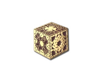 Puzzle Box Soft Enamel Pin