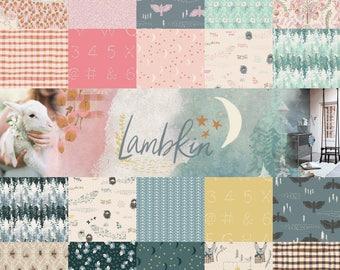 Lambkin Full Fabric Collection - Bonnie Christine - Art Gallery Fabrics - 20 - Fat Eights or 20 Fat Quarters or 20 Half Yards