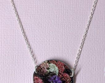 Silver Bouquet Necklace