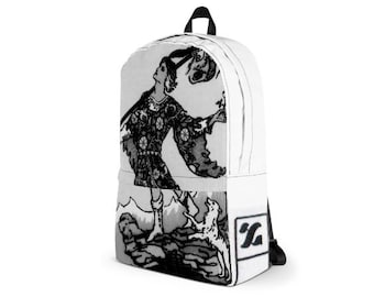 The Fool Tarot Card BackPack