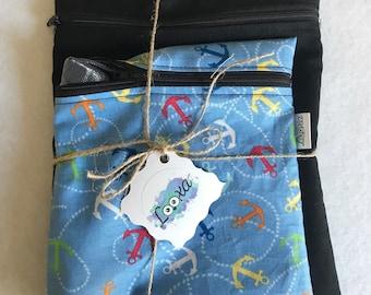 Duet bag snack sandwich, eco-friendly reusable washable