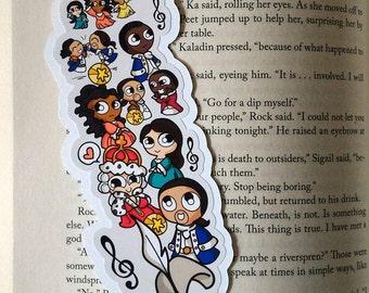 Hamy Bits Traditional Bookmark / BT356
