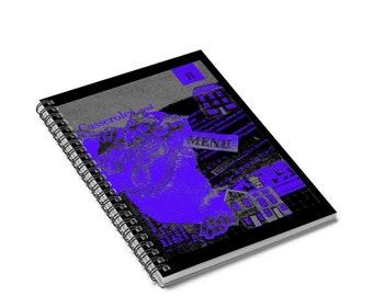 Casserole King  Mimeograph Design Writing Journal Spiral Notebook Journal Lined Paper Notebook For School Blank Notebook Spiral