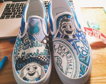 Franklin & Marshall College Custom Sneakers