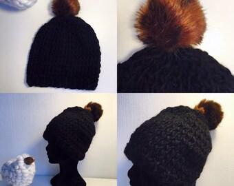 Hat with Pompom