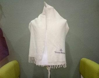 Vivienne Westwood Man Shawl Mafla Scarves Wool