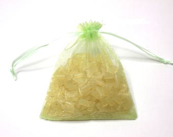 100 Organza Bags, Apple Green Organza Bags 10cm x 12cm, Party Favor Bags, Jewelry Bags, Mesh Bags, Wedding Favor Bags, Birthday Party Bags