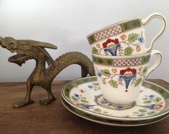 Wedgewood Altona demitasse cup and saucer set
