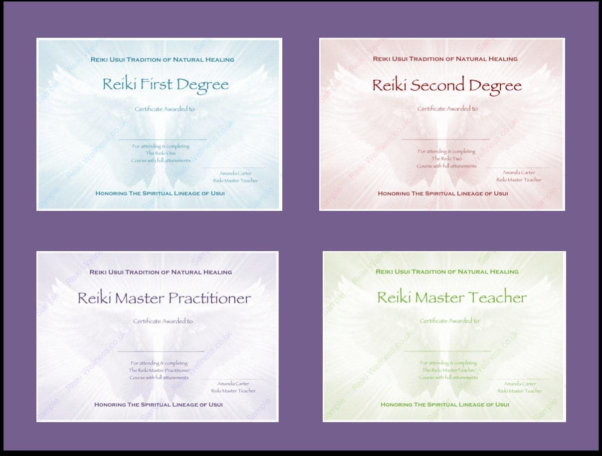 Großartig Reiki Zertifikatvorlage Bilder - Entry Level Resume ...