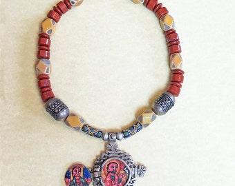 Ethiopian Orthodox Cross Necklace