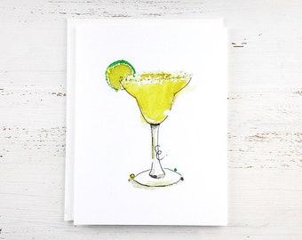 Margarita Note Card