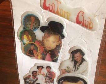 Culture Club Puffy Stickers