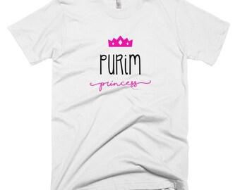 Purim Princess Queen Esther T-Shirt - Jewish tee Purim inspired clothing