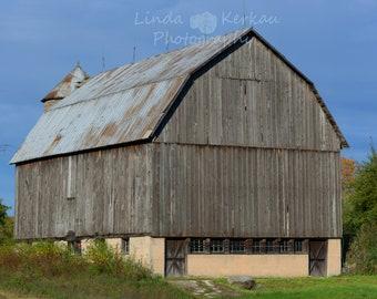 Old Michigan Barn