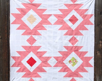 Desert Star/pattern/patterns/quilt pattern pdf/sewing pattern/homemade quilt/modern quilt pattern/baby quilt pattern/instant download/