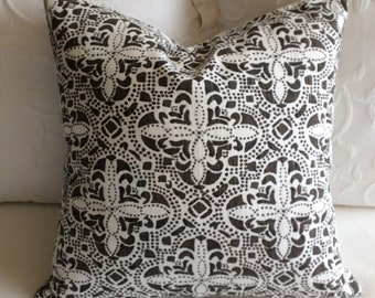 Sandoval Java town pillow cover 18x18 20x20 22x22 24x24 26x26 13x26 12x20