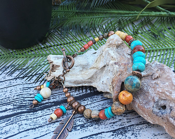 Handcrafted jewelry, Boho Southwest Bracelet