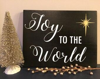 12X9 Joy to the World