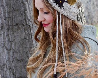 enchanted tree hat KNITTING PATTERN