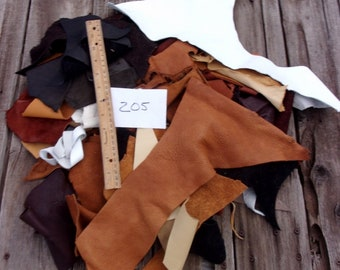 Soft scrap leather , Leather scraps , Leather remnants