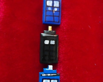 Dr Who TARDIS Badge