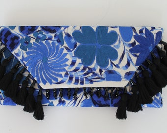 Mexican Handmade Embroidered clutch