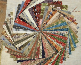 Quilt Fabric 4 Inch Charm Squares 52 Pieces Assortment