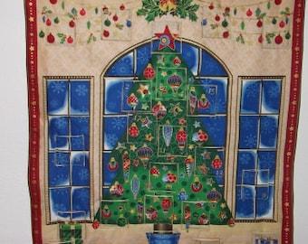 Christmas Advent Calendar - Snowflake Windows
