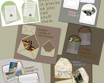 Digital Scrapbooking Envelopes