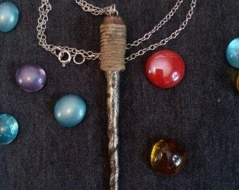 Midnight Magic Wand Necklace