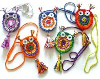 OWL pouch necklace