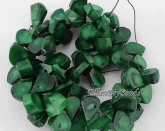 Natural Coral ,One Full Strand,Teardrop coral beads,Coral Beads,Green Coral Beads,Green Stone,Gemstone Beads---10*18mm---15 inches--BC023