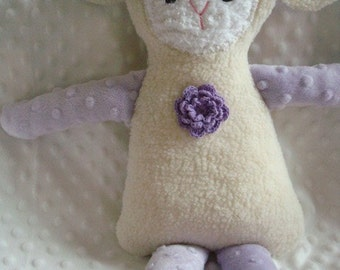 1 DAY SALE - Olivia - A Large Lamb Doll
