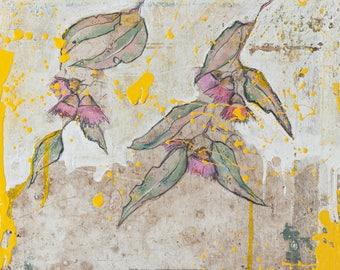 Eucalyptus Print, Herb Art Decor, Botanical Wall Art, Botanical Art, Eucalyptus Tree Art, Eucalyptus Poster, Botanical Artwork #900BO